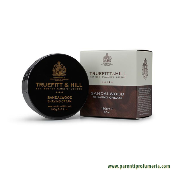 Parenti Profumeria | Truefitt & Hill Sandalwood Shaving Cream Bowl