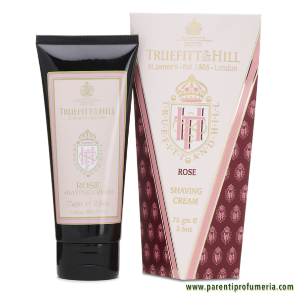 Parenti Profumeria | Truefitt & Hill Rose Shaving Cream Tube
